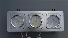LED panel trojitý 15W 1200lm obdélníkový 330x120mm -