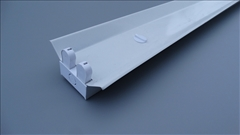 Svítidlo pro T8, 2x120cm bez krytu -