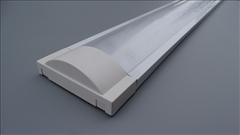 Svítidlo pro T8, 2x120cm s krytem -