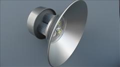 Širokoúhlé LED svítidlo TE-HLA-120W, 11 500lm -