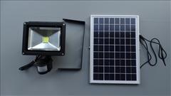 LED reflektor solární s pohybovým čidlem 20W 1880lm -